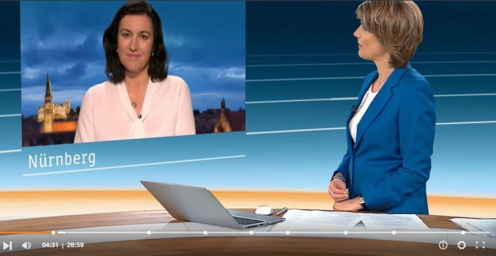 """Dorothee Bär, CSU, sprach sich auch im """"Heute-Journal"""" für """"Lufttaxis"""" aus."""