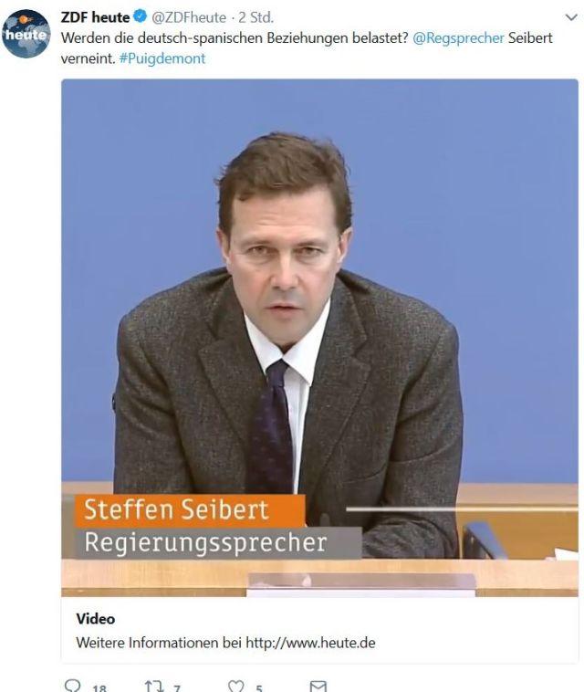 Der Regierungssprecher Steffen Seibert ist ein Künstler des Wegduckens - und daher passt er auch zu Tricky Angie.
