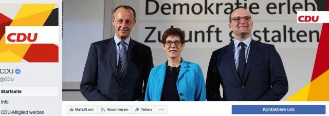 Friedrich Merz, Annegret Kramp-Karrenbauer und Jens SApahn bei einer Regionalkonferenz der CDU.
