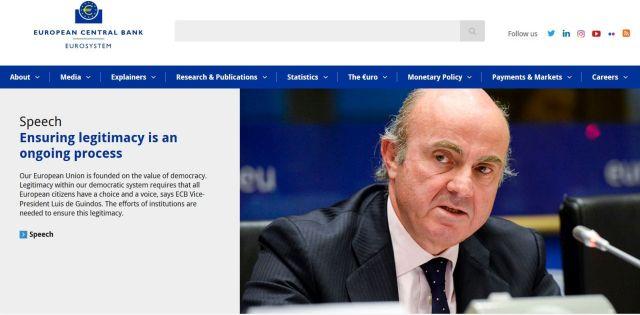 EZB-Vizepräsident Luis de Guindos.