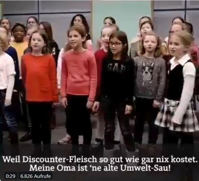 Dortmunder Kinderchor, Mädchen und Jungen.