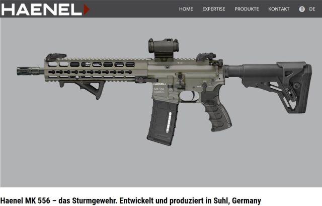Ein Geweht von C. G. Haenel aus Thüringen, das zukünftig zum Bundeswehr-Standard werden soll.