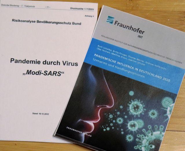 Titelseite der Fraunhofer-Publikation und der Bundestagsdrucksache, die beide im Text erwähnt werden.
